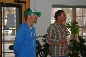 Kevin Lorda and Jim Fagan -Timberline Construction.