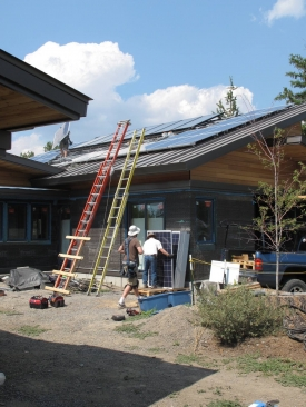 Installing Photovoltaic modules