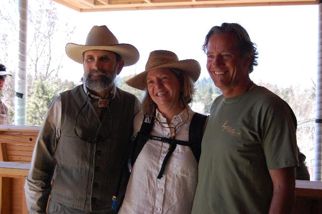 Tom, Barb, and Jim Fagan