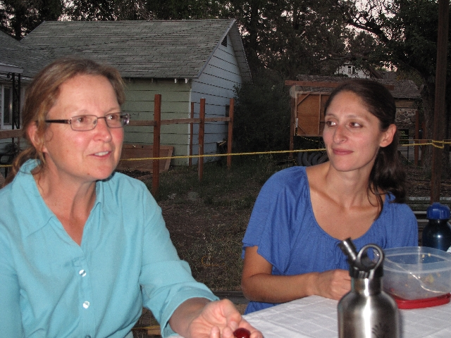Kelly Riley (documentation, blogger) and Soraya Renner, Barb and Tom\'s new assistant