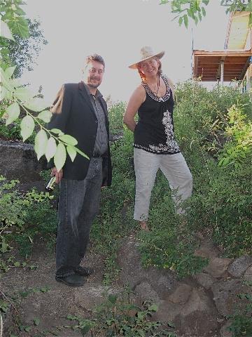 Barb and Jason McLennan