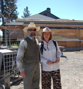 Tom and Barb deserve much appreciation for their pioneering spirit, persistence, and vision for breaking barriers with the Desert Rain project.