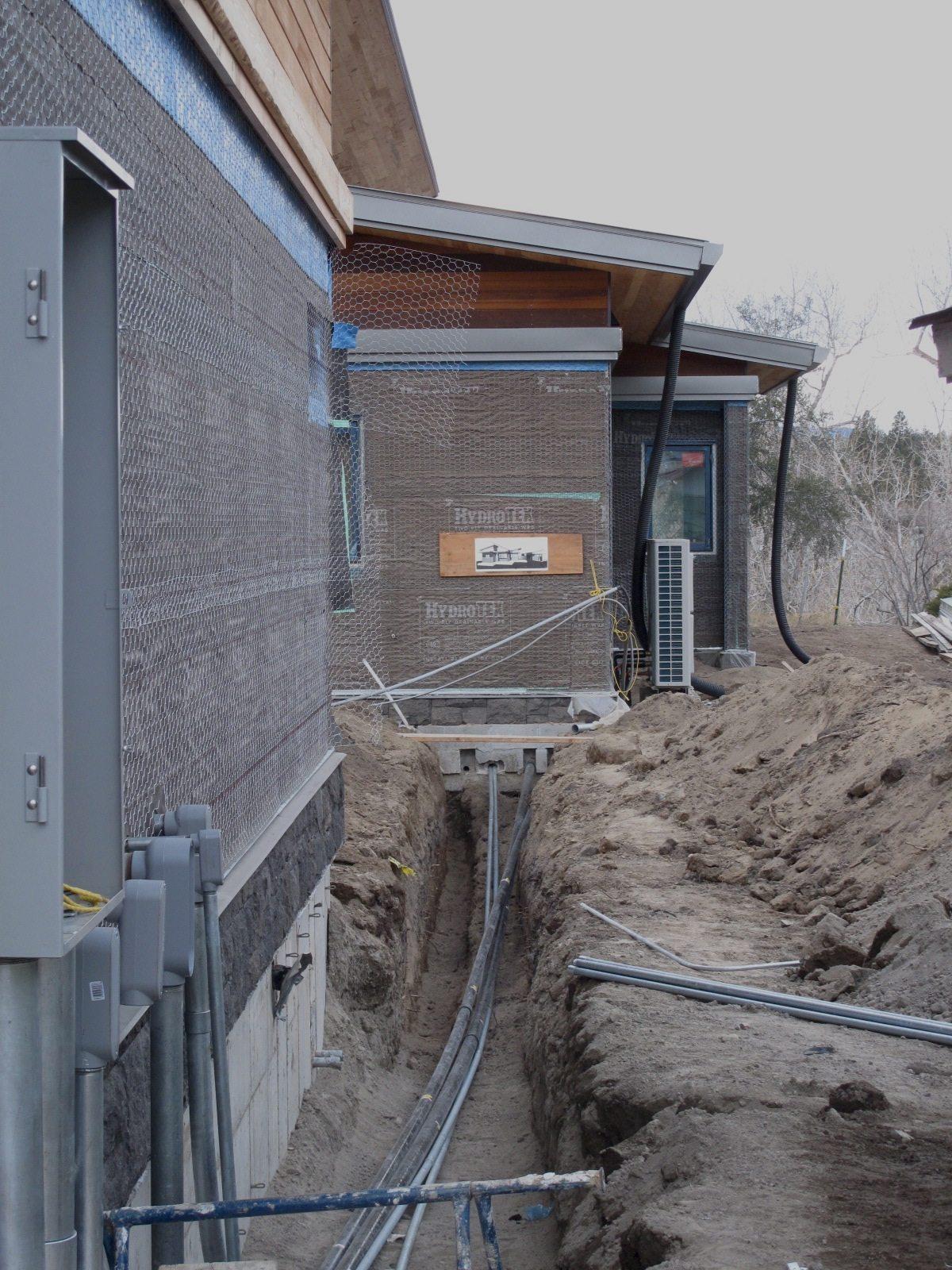 Progress In Pictures Desert Rain House