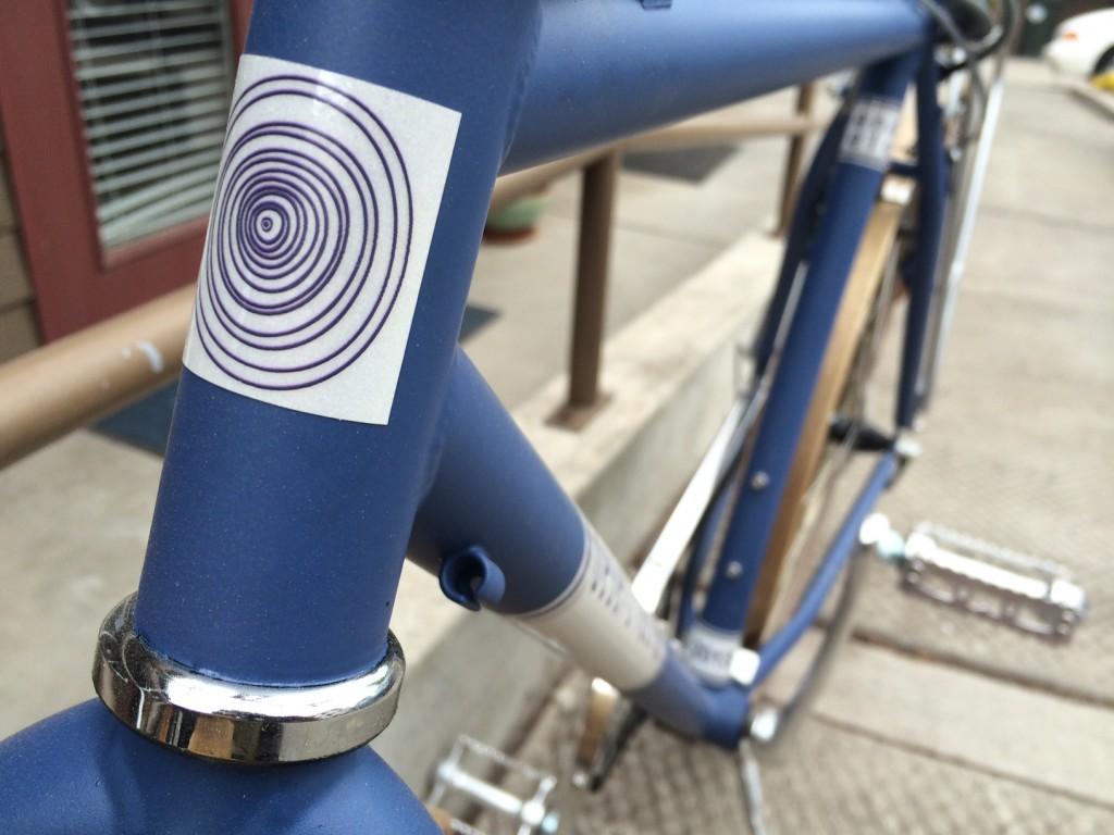 Head Badge on Tom's Bike