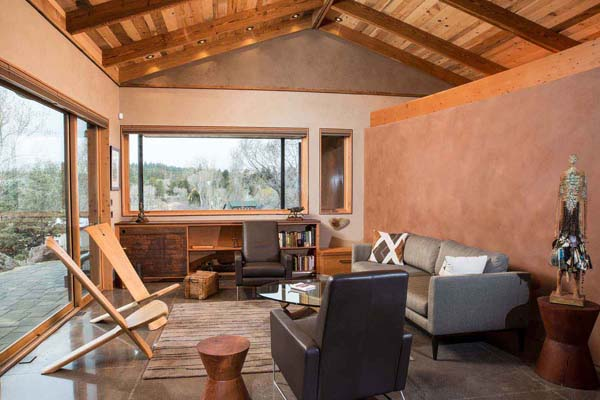 desert rain living room