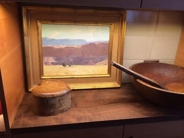 Vermillion Cliffs in Desert Rain kitchen