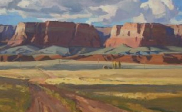 """Desert Homestead"" by G. Russell Case"